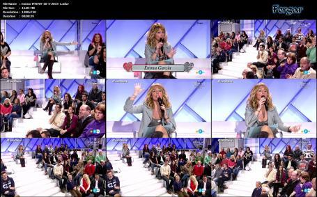 Emma García Video Mostrando Sujetador Minivestido Con Botas