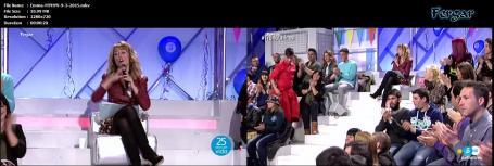 Emma García Video Minifalda Con Medias y Botas