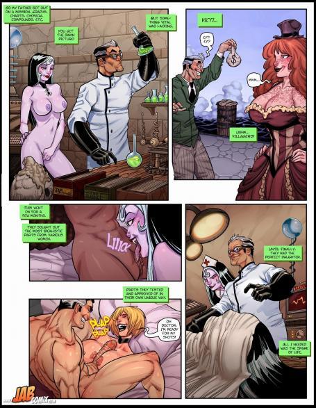Крипипаста секс комиксы