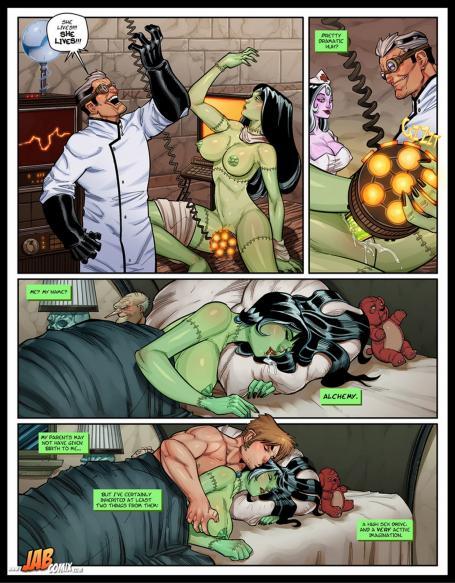 Семейка криппи порно комикс