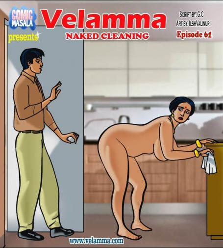 Velamma – Episode 61 – Naked Cleaning