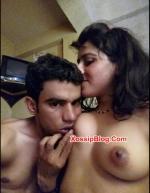 Pakistani Girlfriend Boobs Sucking by Her Boyfriend