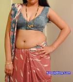 Sexy Desi Wife in Saree Nude Show
