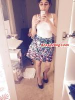 Horny UK Pakistani Girlfriend Selfie Nude